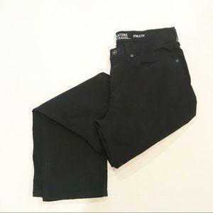 Levi Strauss Signature Athletic Black Jeans
